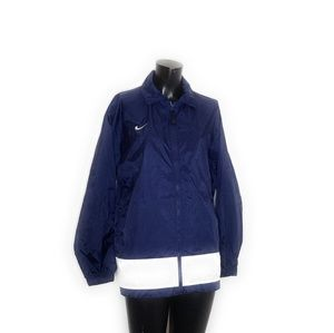 Vintage 90s Nike Windbreaker YOUTH BOYS XL Blue